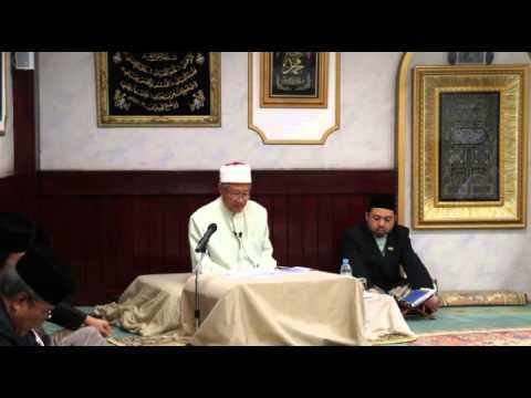 Ceramah Dari Mufti Kerajaan Brunei Musim Panas 2014