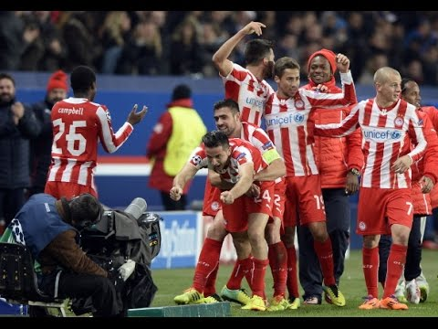 Olympiakos vs Manchester City (2-2) (5-4 On penalties)~ All Goals & Highlights (2014) HD ICC