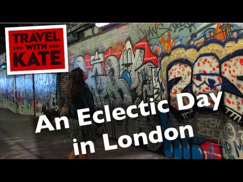 London Vintage Shopping and Street Art on Travel with Kate