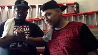 Illmaculate And Charlie Clips After Their Battle | #DuelInTheDesert