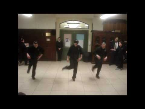 Simcha Squad preforming at Yeshiva Ketana of Manhattan