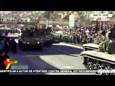 Parada militar - Bolivia 2014 aniversario de las FF. AA Parte4