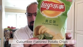Lay's China Cucumber Flavored Potato Chip Review