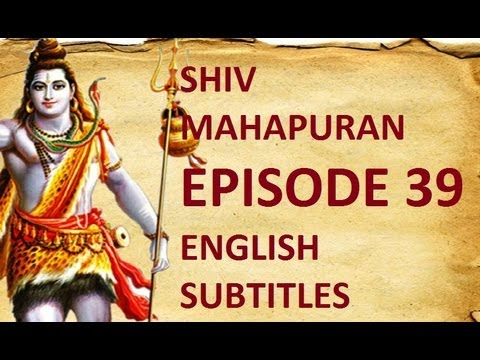 Shiv Mahapuran with English Subtitles - Episode 39 I Ganesh --...