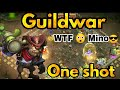 Guildwar WTF Mino 4 Attack In 1st Try Top 5 Castle Clash mp3