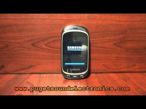 How to unlock T-Mobile Samsung Gravity T SGH-T669