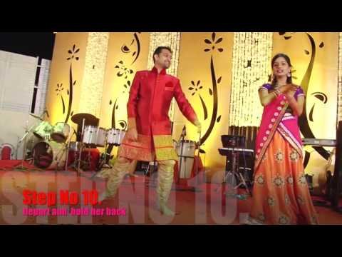 Learn Couple wedding Dance Step By step In Slow Motion On Bolly
