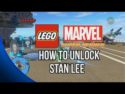 How to Unlock Stan Lee - LEGO Marvel Super Heroes