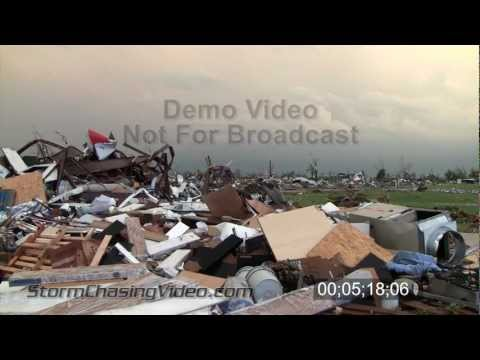 5/22/2011 Joplin, MO Tornado Damage Aftermath B-Roll