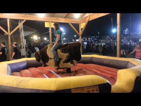 Helen Hunt Bull Ride