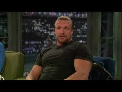 Triple H talks about his appearance on Late Night with Jimmy Fallon