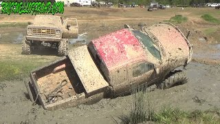 FORD MUD TRUCK GOES DEEP AT MUD TRUCK MADNESS!!
