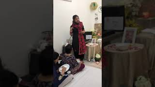 Beautiful message Guruji gave through Prachi Aunty on 29th April