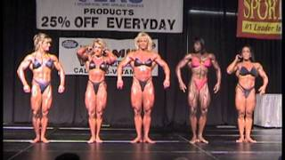 1999 Ultimate Event IFBB Pro Women Bodybuilding OVERALL