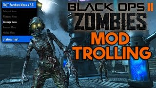 Black ops 2 Zombie Mod Trolling! (I'm The ROBOT!)