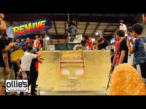 [Revive Takes Over Ollie's Skatepark]