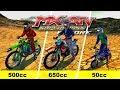 MX vs ATV Supercross Encore - 500cc/650cc/50cc - RANDOM BIKE TESTING!