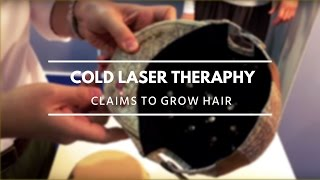 Cold laser therapy hat claims to grow hair IFA 2015