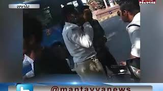 Rajkot: Viral Video of Traffic Cop taking Bribe | Mantavya News