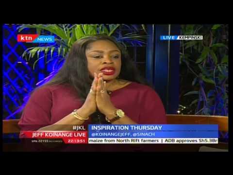Jeff Koinange Live: Inspiration Thursday, Sinach In Kenya (Part 1) 24/11/2016