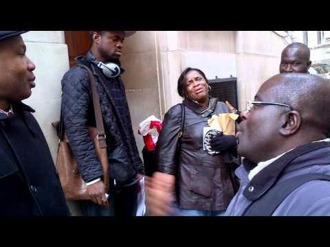 Drama at the Nigeria High Commission London