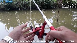 249K FREE SHIP| Hướng dẫn cách câu cần bút máy đứng| PEN FISHING ROD