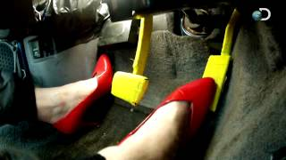 Driving In High Heels | MythBusters
