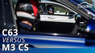 2019 BMW M3 CS v Mercedes-AMG C 63 S Comparison Test  | carsales