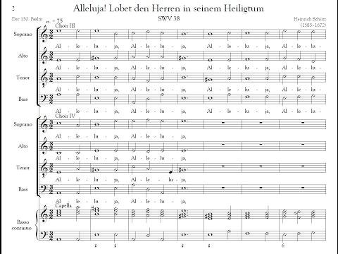 Heinrich Schütz - Alleluja! Lobet den Herren (Psalm 150), SWV 38