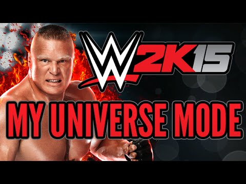 My Wwe 2k15 Universe Mode - Episode 3 - Attempting Something New video