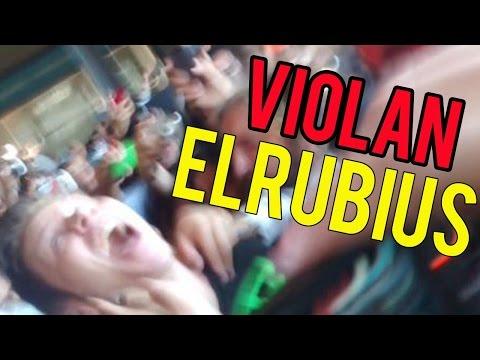 VIOLAN EN EL AEROPUERTO DE ARGENTINA A ELRUBIUS | CLUB MEDIA FEST