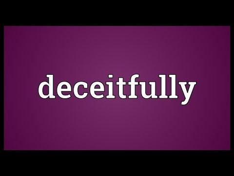 Header of deceitfully