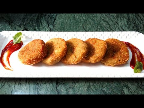 STUFFED POTATO CUTLET | MINCED MUTTON CRISPY POTATO CUTLET | KHEEMA ALOO CUTLET by*VAJIHA'S KITCHEN*