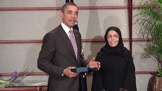 President Obama Presents the International (Women) of Courage Award 4/1/14