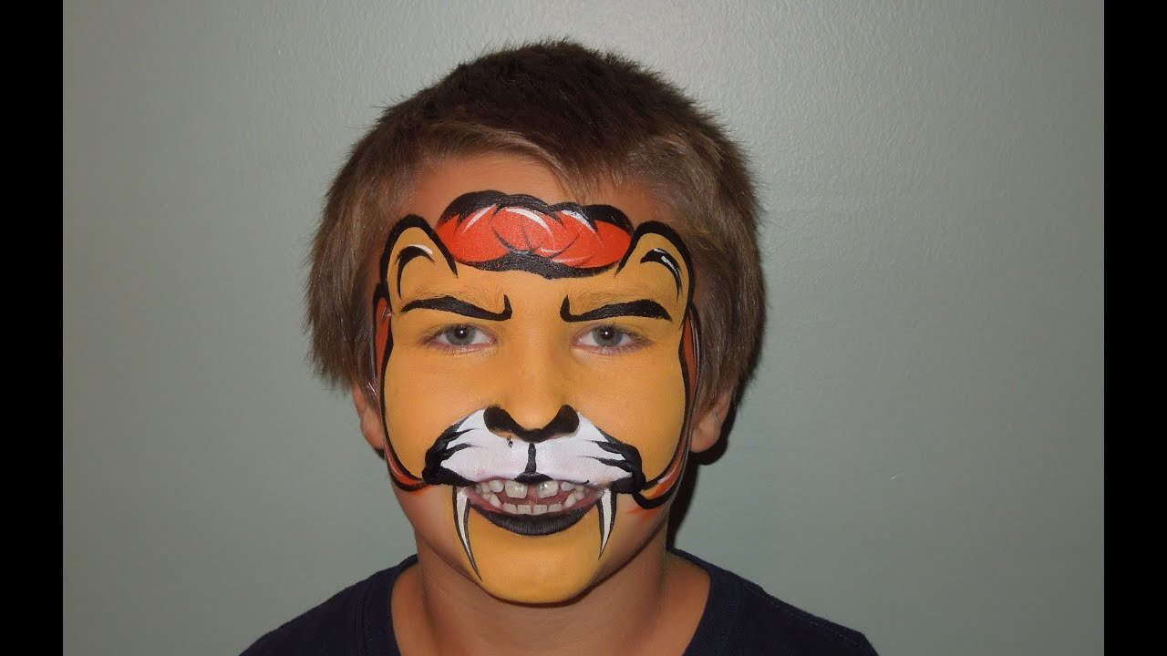 Lion Face Makeup Lion Face Painting Marvelous