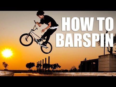 Как сделать барспин на BMX/MTB (How to barspin bmx) | Школа BMX Online #6 Дима Гордей
