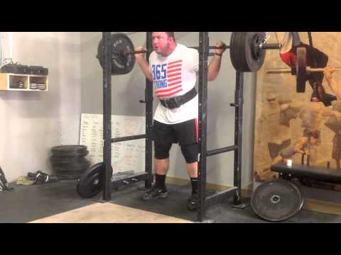Chad Wesley Smith Squat Training w/ Commentary Image 1