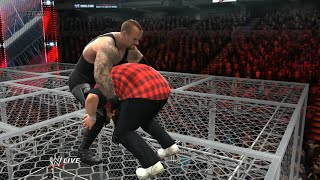 WWF King Of The Ring 1998 Undertaker vs Mankind Hell In A Cell WWE 2K14