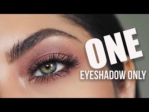 Simple One Eyeshadow Makeup | Melissa Alatorre