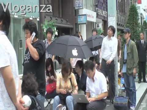Tokyo esprime un senso di appartenenza al marchio della mela