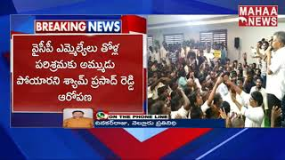 Shyam Prasad Reddy About  YCP Leaders Scams | Kothapatnam | MAHAA NEWS