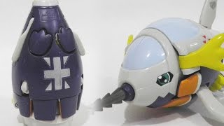 Digi-Egg/Digimental of Reliability/Honesty(誠実のデジメンタル)to Submarimon(サブマリモン)-Digimon Figure Review