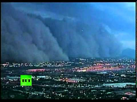 Phoenix Dust Storm: Video of Doomsday Scenes in Arizona