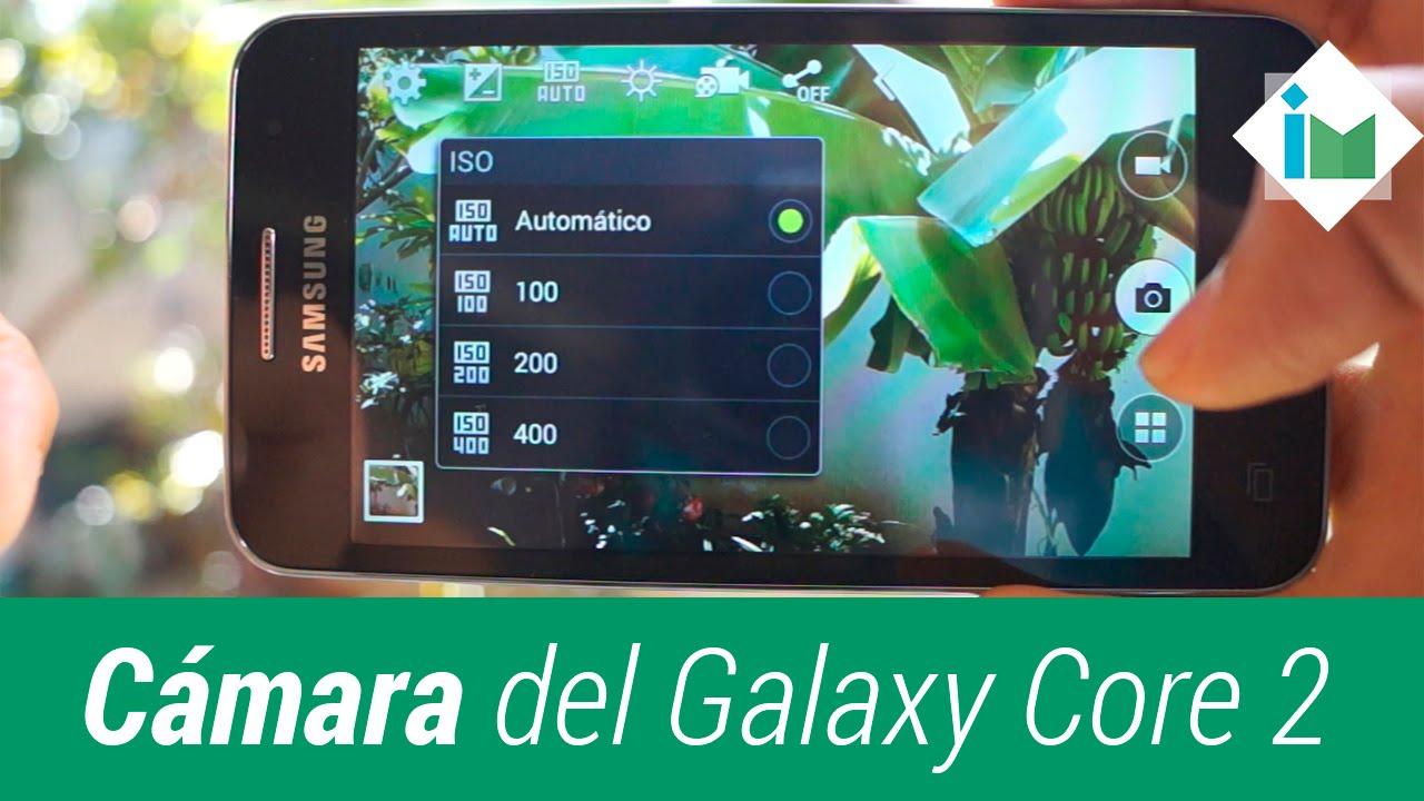 Cámara Del Samsung Galaxy Core