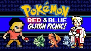 Pokemon Red & Blue Glitch Picnic! | Pokemon Gen 1 Glitches (GB/ 3DS) | MikeyTaylorGaming