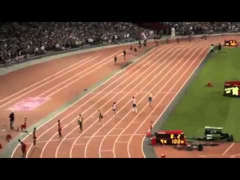 Olympic 4x100m Relay Mens Final 2012 Jamaican World Record 1 1   YouTube