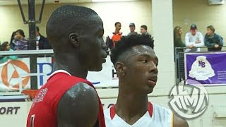 Thon Maker VS Harry Giles! Championship Game At HSOT!