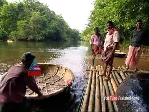 Ithalukal 30th Sep 2014 |Basket boats travel in Pathanamthitta adavi tourism