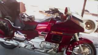 CANDY RED HONDA GOLDWING IN THE LAB - Albany Ga [MrTOFinc] HD