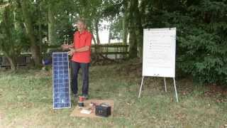 Practical Caravan on solar panels